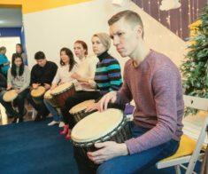 Мастер-класс по игре на барабанах