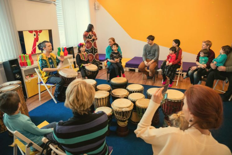 Мастер-класс по африканским барабанам