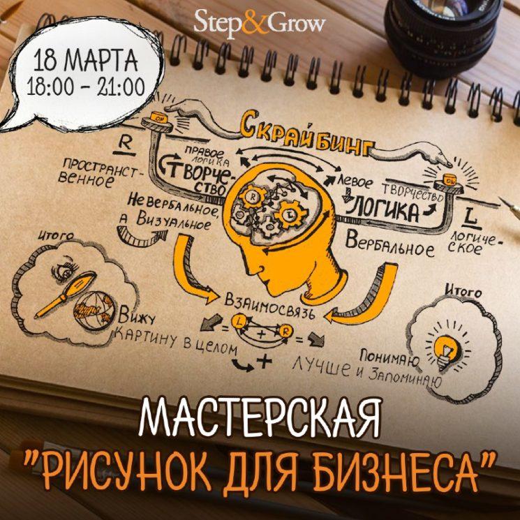 """Бесплатный вебинар """"Рисунок для бизнеса"""""""