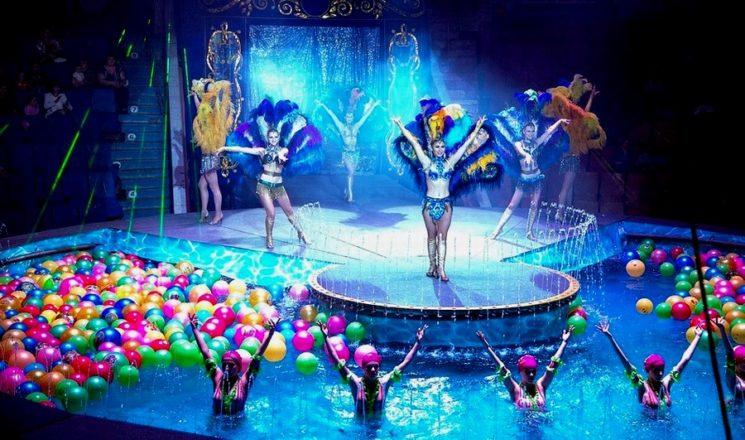 Московский цирк на воде