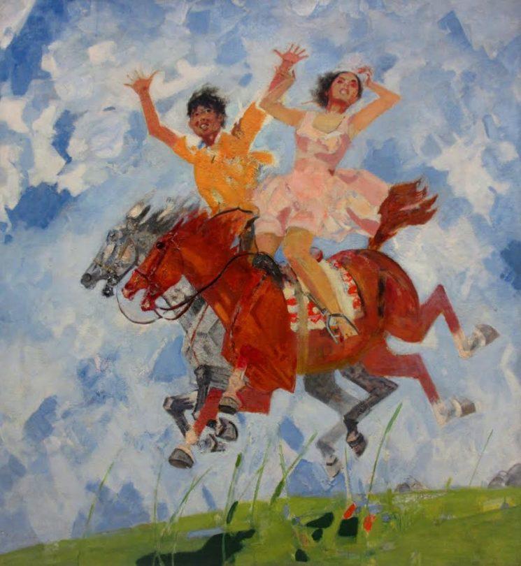 Юбилейная выставка Канафии Тельжанова к 90-летию