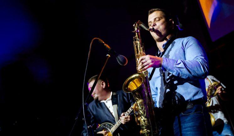 Джазовый саксофонист Андрей Константинов