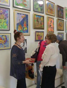 Выставка детских работ учащихся Изостудии «Арт-8»