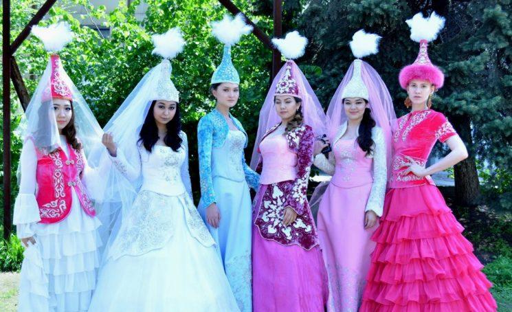 Праздник казахской национальной одежды 2017