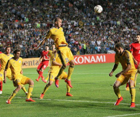 Футбол: Казахстан — Дания