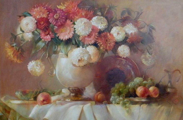 Персональная выставка Елены Те «Краски лета»