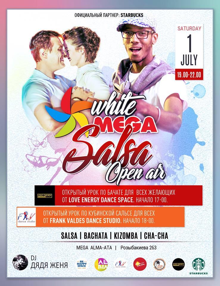 White Mega Salsa Open Air