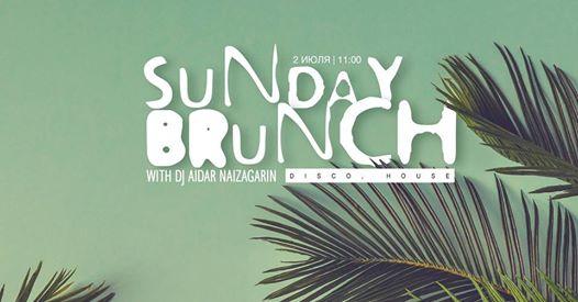 Sunday Brunch #8 with DJ Aidar Naizagarin