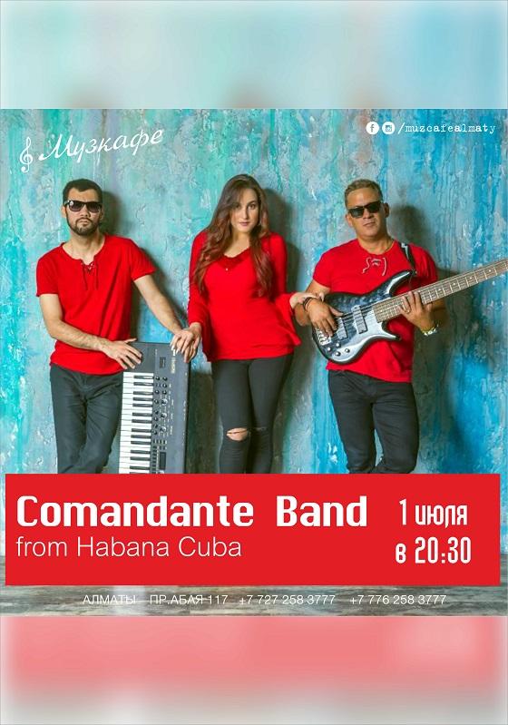 Comandante Band в Музкафе