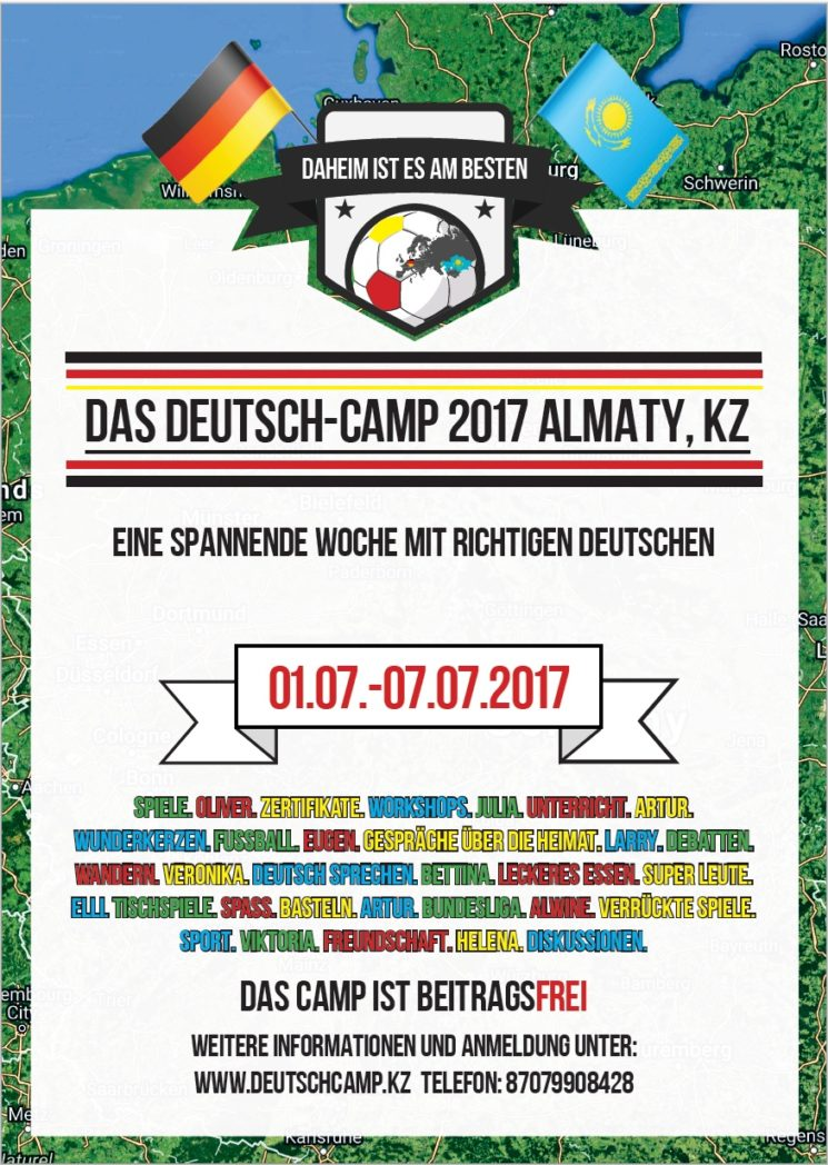 Das Deutsch-Camp Almaty 2017
