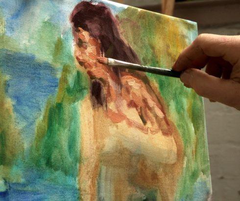 Показ фильма «Ренуар – Неизвестный художник»
