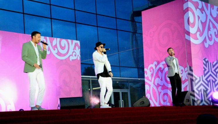 Праздничный концерт ко Дню столицы РК