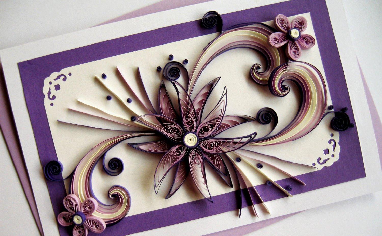 Мастера открыток квиллинг, цветы
