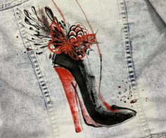Мастер-класс «Иллюстрация на ткани»