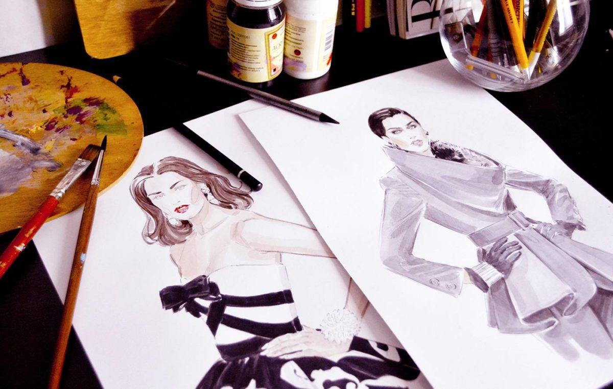 Курсы fashion иллюстрации екатеринбург