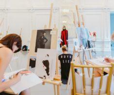 Мастер-класс по fashion иллюстрации