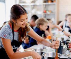 Кулинарный лагерь для тинейджеров