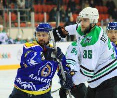 Хоккей с шайбой: Алматы — Бейбарыс