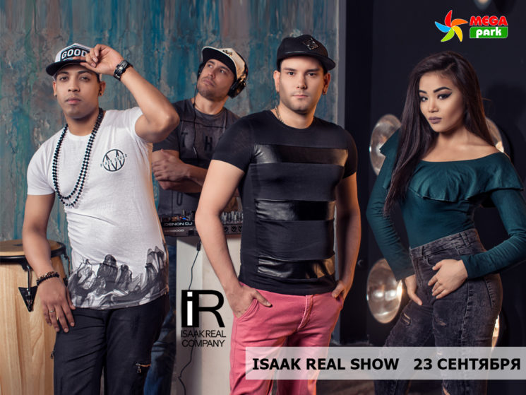 Isaak Real Show в ТРЦ Mega Park