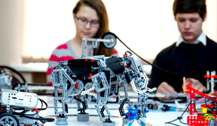 Мастер-класс по робототехнике для детей