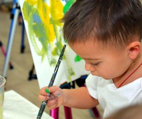 Детская выставка в Центральном государственном музее