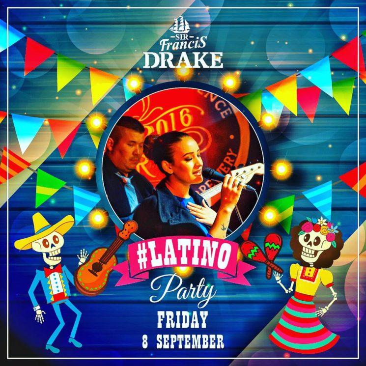 LATiNO Party | Sir Francis Drake