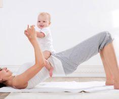 Йога для мам с малышами