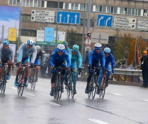 Профессиональная шоссейная велогонка «Тур Алматы 2017»
