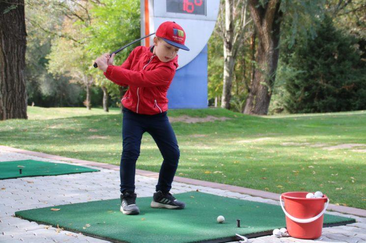 Закрытие сезона по гольфу