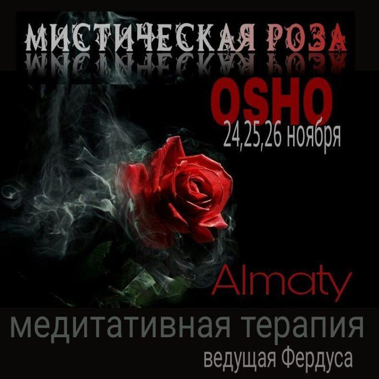 """Медидативная терапия """"Mystic Rose"""""""