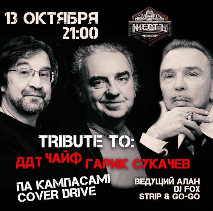 Tribute to ДДТ, Гарик Сукачев, Чайф