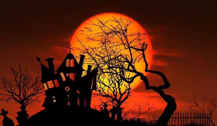 Halloween в Mega Alma-Ata