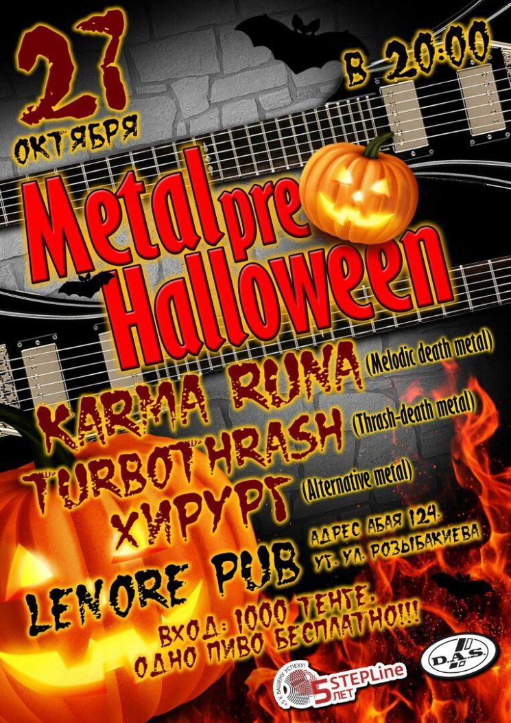 Metal Pre Halloween