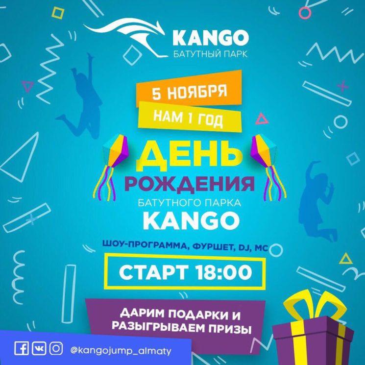 День Рождения батутного парка Kango