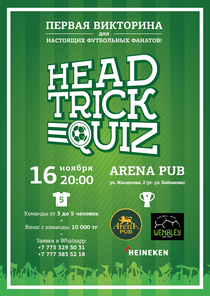 Head Trick Quiz. Игра 3
