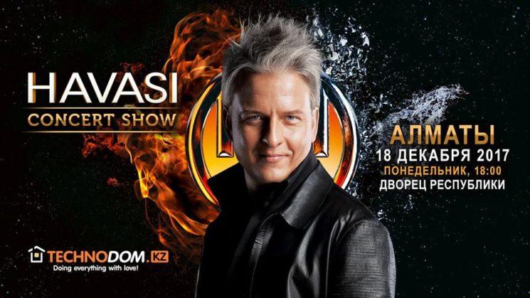 Havasi Concert Show - Almaty 2017