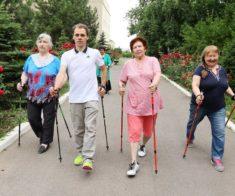 Мастер-класс «Скандинавская ходьба против диабета»