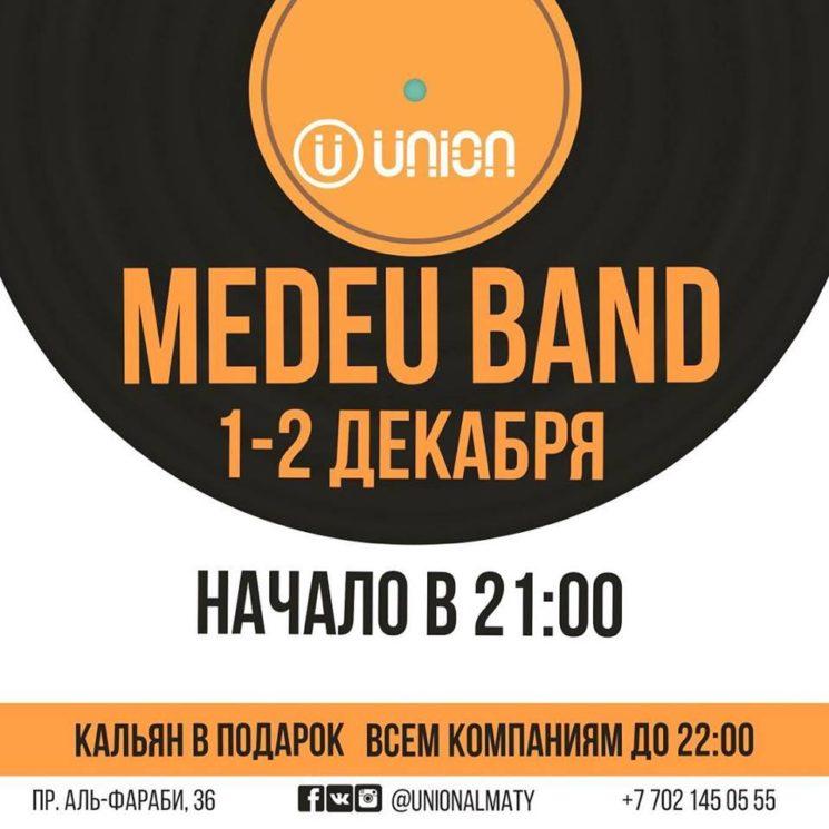 Medeu Band в баре Union