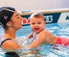 Соревнования по грудничковому и малышковому плаванию