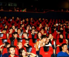 Кино Ночь в кинотеатре Silk Way Cinema