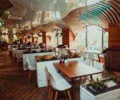 Новогодний корпоратив в ресторане Saebiz