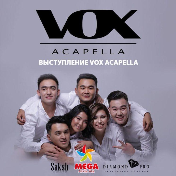 Выступление группы Vox Acapella