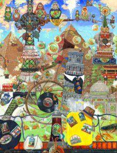 Выставка «Круговорот» Петра Фролова