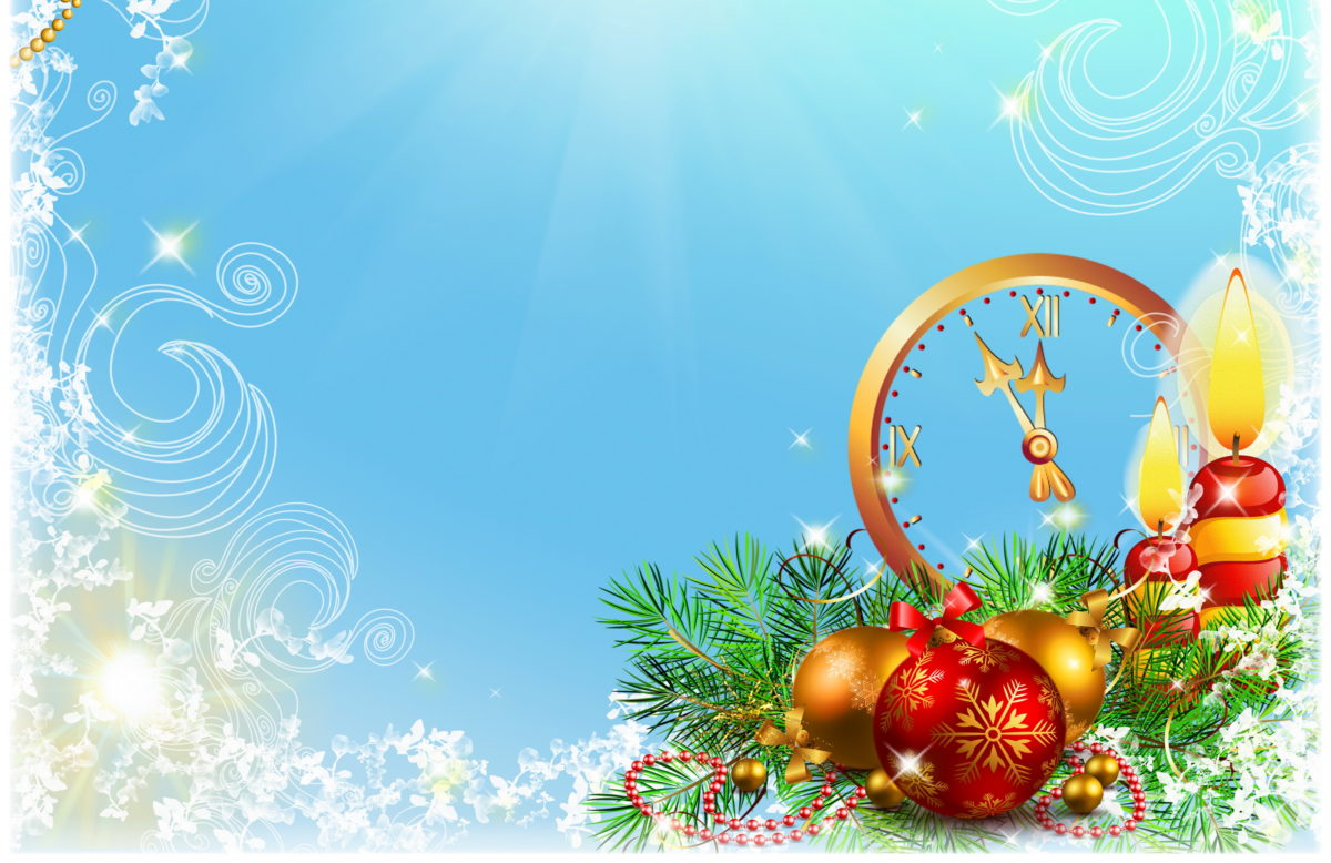 Нов год открытки шаблоны