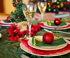 Новогодний ужин в Aurora space