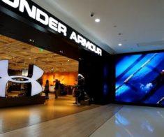 Открытие магазина «Under Armour»