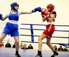 Чемпионат Казахстана по боксу среди девушек
