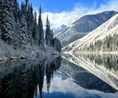 Kaindy-Kolsay Winter Trip