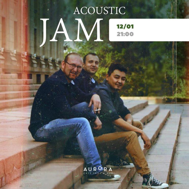 Acoustic Jam в Aurora Almaty