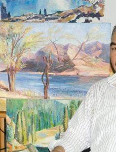 Персональная выставка Хамзы Кикимова